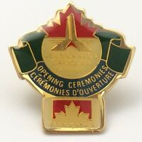 Jeux Canada Games 1989 Opening Ceremonies Petro Canada Pin F959