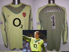 Arsenal Lehmann Nike Adult XL BNWT 03 04 Shirt Jersey football Soccer GK Top 60652f56c