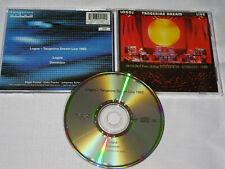 TANGERINE DREAM - LOGOS LIVE (1982) / HOLLAND ALBUM-CD 1994 (MINT-)