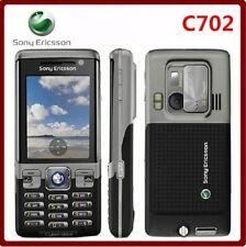 Original Sony Ericsson C702 Unlocked Cell Phone GPS 3G 3.15MP Camera phone BLACK