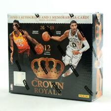 2017-18 Panini Crown Royale Basketball Hobby Box Factory Sealed NEW #2