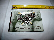 """Hudson Valley Renegades MiLB Blank 2002 Autograph Book 5 1/2"""" Wide NEW"""