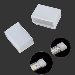 Silicon End Cap Cover for Waterproof Strip Light 10mm Width