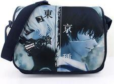 Tokyo Ghoul shoulder bag boys school bag Men Canvas Messenger bag Anime handbag
