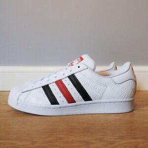 Adidas Originals Superstar Trainers Sneakers Size 8 UK FX2717
