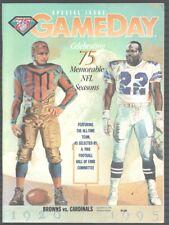 Cleveland Browns vs Arizona Cardinals Football Program-9/18/1994