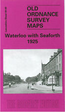 OLD ORDNANCE SURVEY MAP WATERLOO WITH SEAFORTH 1925