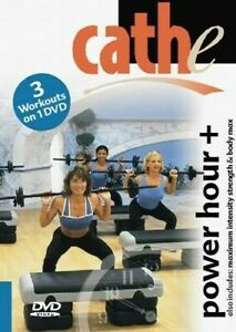 CATHE FRIEDRICH DVD POWER HOUR MAX STRENGTH & BODY MAX EXERCISE WORKOUT NEW