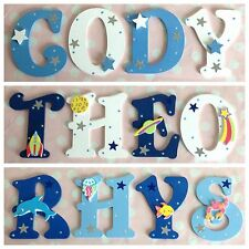 Children Baby Name Door Handmade Wooden Letter Bedroom Wall Boys Girls Any Theme