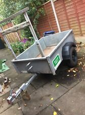 used galvanised car trailer Collection Droitwich Worcs