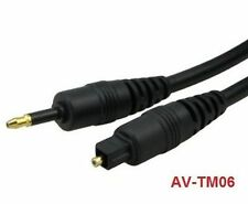 6 ft. Toslink to Mini-Toslink Optical Cable, AV-TM06
