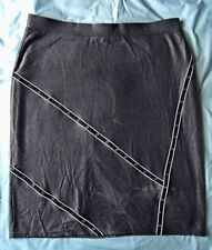 Hand-wash Only Geometric Plus Size Skirts for Women