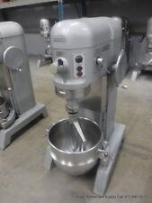 Hobart H-600T Pizza Donut Pizza Dough Mixer 60 Qt w/ Bowl & Beater