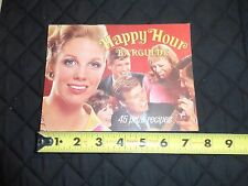 Vtg Southern Comfort Adv Vintage Happy Hour Barguide Bar Recipe Booklet 1968