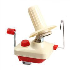 Household Manual Bobbin Winder, Hand Operated Yarn Fiber String Ball N9X7