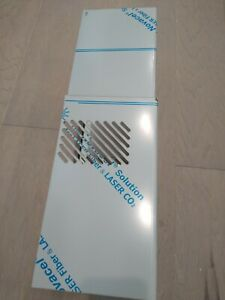 """New GE Stainless Steel Vented Range Hood Flue DUCT COVER ONLY 24"""" tunnel chimney"""