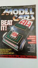 Radio Control Model Cars Magazine UK October 1988 RC Vintage Model Remote