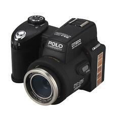 POLO D7200 3,0 zoll HD 1080 P Video SLR Digital Scheinwerfer Kamera + 2 Batterie