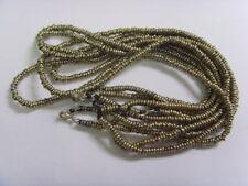 5 handmade kuchi tribal heishe metal spacer beads necklace belly dance ats 49498
