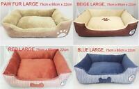 Millies Luxury Pet Basket Mat Cushion Dog Bed Pet Bed LARGE,75cm x 65cm x 22cm