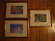 Lot of 3 Framed Impressionist Prints