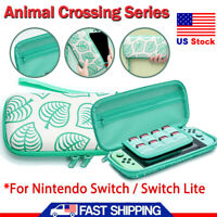 For Nintendo Switch Lite Carrying Case Bag Animal Crossing Protective Storage US