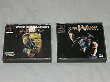 Lot jeu PS1 : WING COMMANDER 3 (III) et 4 (IV)