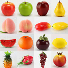 Plastic Simulation Cherry Artificial Fruits Lifelike Kitchen Fake Fruit Home Dec