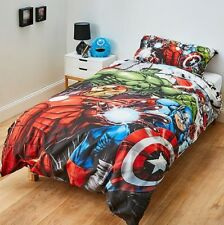 MARVEL THE AVENGERS DOUBLE Bed QUILT DOONA COVER Set HULK IRON Man THOR
