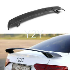 Carbon Trunk Spoiler Lip Wing for Audi A3 S3 A4 B8 B9 A5 S5 A6 S6 R Style