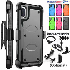 Phone Cover For Samsung Galaxy A10e Hard Case Belt Clip Holster With Accessories
