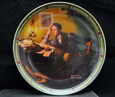 A Young Mans Dream Norman Rockwell American Dream Knowles Collectors Plate