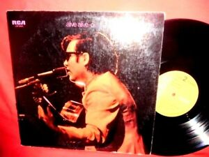 JOSE' FELICIANO Alive alive-O! Double LP AUSTRALIA 1969 EX+ Beatles The Doors