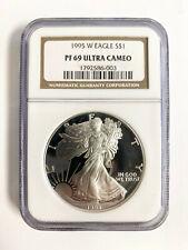 1995 W Eagle $1 PF69 UC