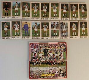 Figurina Sticker Calciatori Panini 1974 75 Team squadra JUVENTUS completa NEW