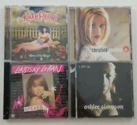 Female Solo Artist CD Bundle of 4 Titles SEE DESCRIPTION FOR ARTIST TITLE