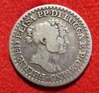 Italie LUCCA E PIOMBINO 1 franco 1808