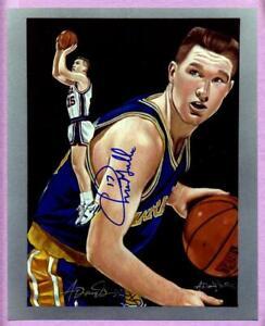 Chris Mullin Warriors & Anthony Douglas Dual Autograph 8x10 Art Prints - U Pick