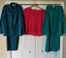 Lot of 3 Drapers & Damons Outfits/Beautiful Colors/Two Sizes/Excellent Condition