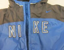 NIKE THICK WINTER COAT BABY TODDLER 24 MONTHS BLUE REVERSIBLE W LINED WRISTS