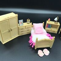 Calico Critters Sylvanian Families Home Sweet Home Master Bedroom Vintage Tomy