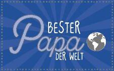 Geburtstagsteelicht Geburtstag Geburtstagkarte Kerze Bester Papa