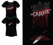 CARRIE Stephen King 1976 Horror Movie Female Junior Teens COTTON T SHIRT M New