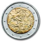 2 EURO COMMEMORATIVA ITALIA 2008 DIRITTI UMANI MOLTO RARA DA COLLEZIONE