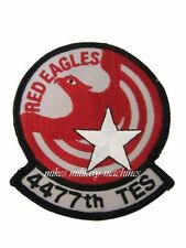 USAF Air Force Black Ops 4477th Red Eagles Test and Evaluation Squadron Patch