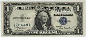 1935 A $1.00 SILVER CERTIFICATE ~ BRAND NEW, YET (86) EIGHTY-SIX YEARS OLD
