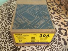 Square D Hu361n Disconnect Switch 30a 600v 3ph Indoor Nema 1 Brand New
