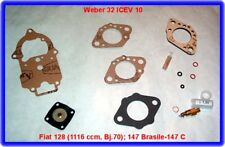 Weber 32 ICEV 10, carburatore REP. KIT, FIAT 128 ecc.