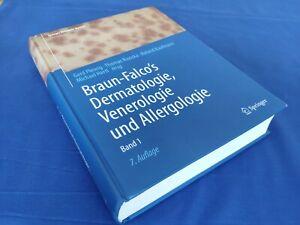 NUR BAND 1  Braun-Falco's Dermatologie, Venerologie und Allergologie (2018)