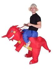 Bodysocks® Inflatable Red Dragon Riding Costume (Adult)